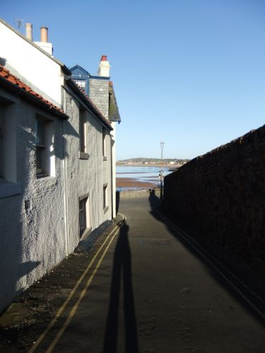 Admiralty Lane leading down to harbour/beach