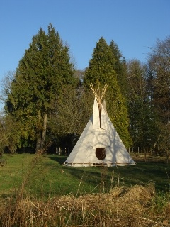 Baby Friendly Holidays at La Tuilerie -  Tipi for 6