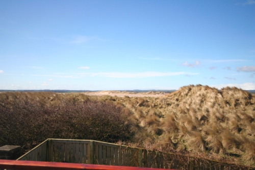 Views from balcony,