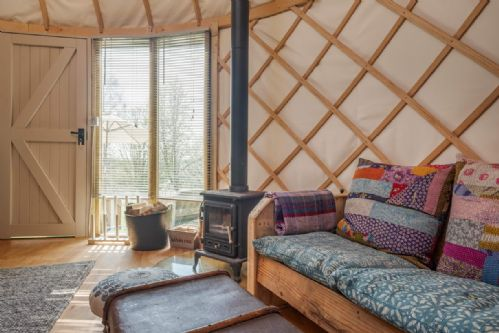 Upfront,up,front,reviews,accommodation,self,catering,rental,holiday,homes,cottages,feedback,information,genuine,trust,worthy,trustworthy,supercontrol,system,guests,customers,verified,exclusive,yurt eric,the garlic farm,newchurch,,image,of,photo,picture,view