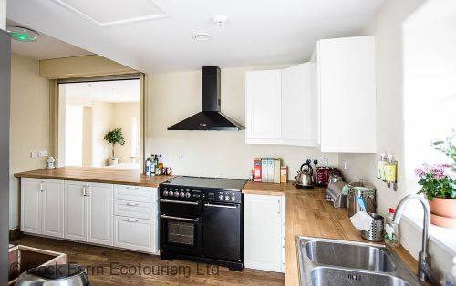 Fully serviced kitchen for self catering