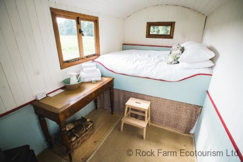 Pine Shepherd Hut sleeps two people