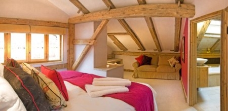 Baby Friendly Holidays at Ferme du Ciel - Double room for 4