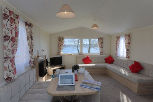 Upfront,up,front,reviews,accommodation,self,catering,rental,holiday,homes,cottages,feedback,information,genuine,trust,worthy,trustworthy,supercontrol,system,guests,customers,verified,exclusive,caravan k - new for 2016 35 x 12  loch facing,appin holiday homes,,,image,of,photo,picture,view