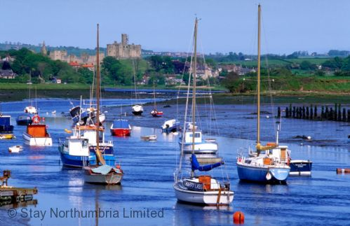 Amble Marina (views towards Warkworth)