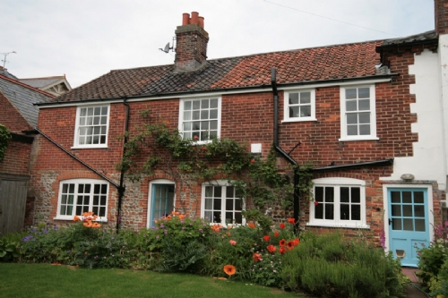Ivy Farm Cottage, traditional, flint holiday cottage in Mundesley, Norfolk - Norfolk Cottages - coastal cottage.