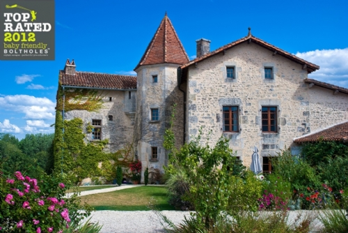 Baby Friendly Holidays at Chateau de Gurat, Jardin de Rose