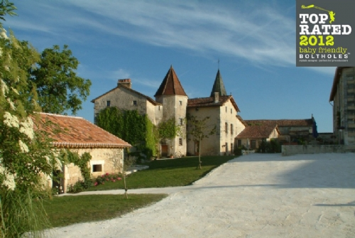 Baby Friendly Holidays at Chateau de Gurat, Le Coin Fleuri