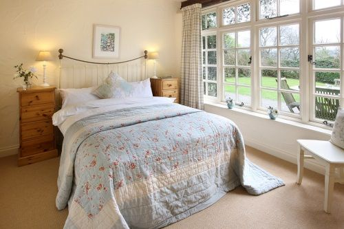 Baby Friendly Holidays at Glynn Barton Cottages - Tack Room (Sleeps 2 + Cot)