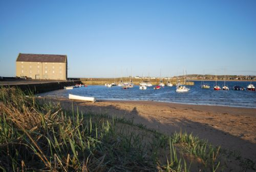 Granary view from harbour beach