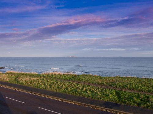 Uninterrupted sea views to the Farne Islands
