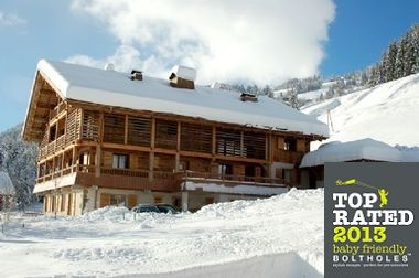 Baby Friendly Holidays at Chalet le 4- Apartment 4