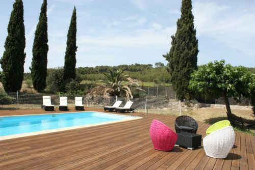 Baby Friendly Holidays at Secret South France - Mas de Thau - Grenache