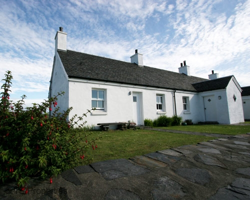Traditional Cottage Easdale Island Scotland