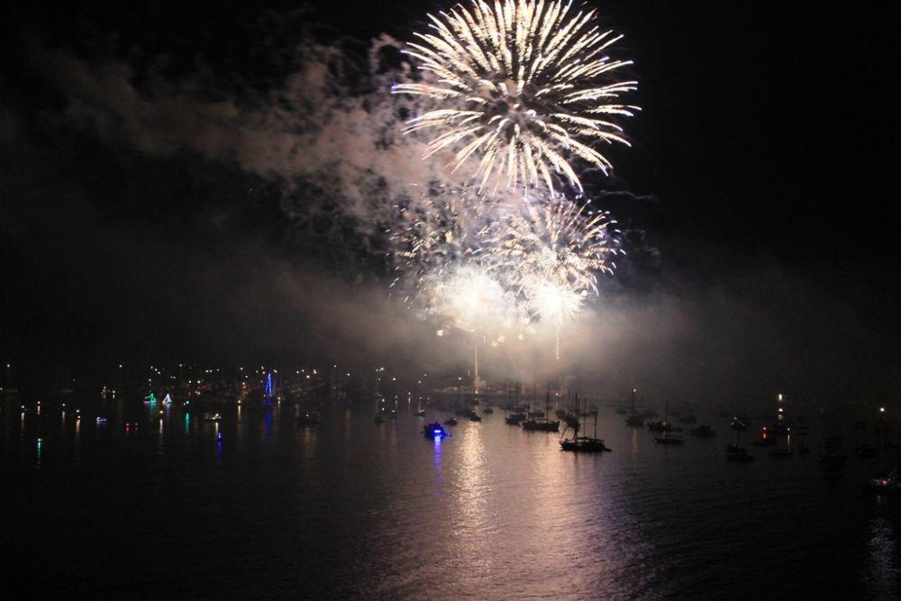 Fireworks in Fowey