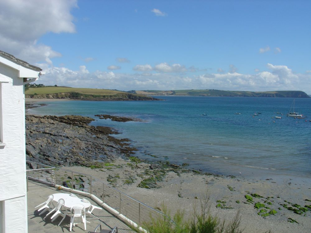 5 Harbour Court; Portscatho; View from Lounge Window