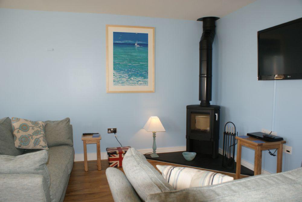 Seascape; Portscatho; Woodburner