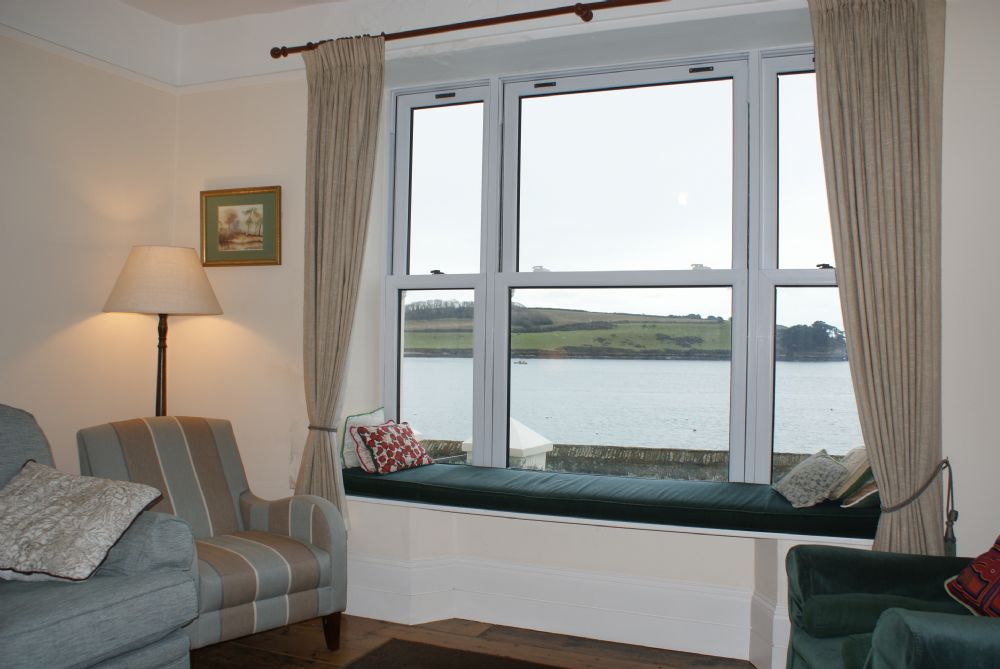 Captains Cottage; St Mawes;  View from Lounge Window