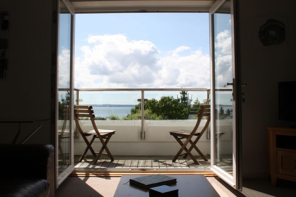 A Loft; St Mawes; View from sitting room