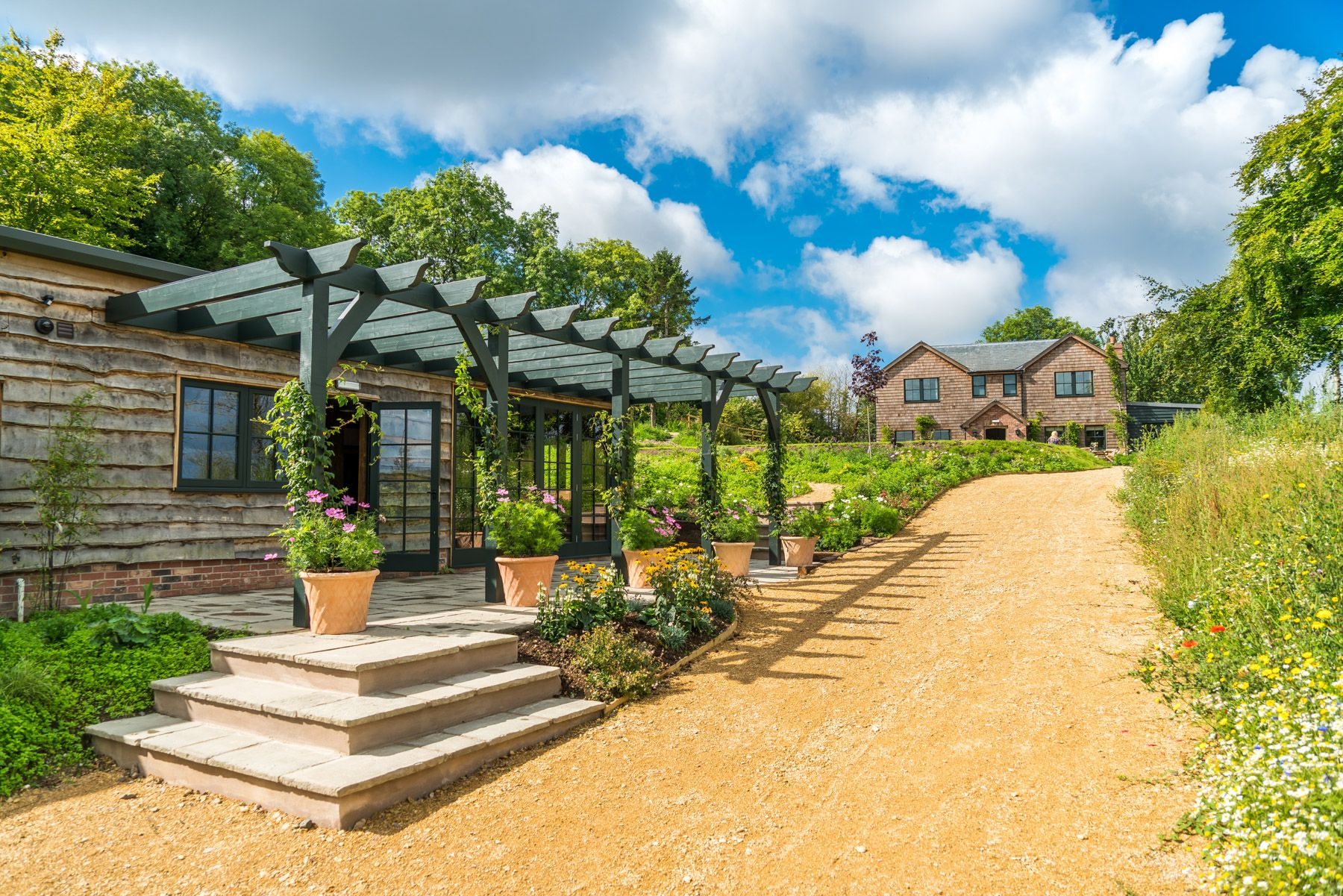 Hillside Country House · Hillside Spa Leading To The Country House ...