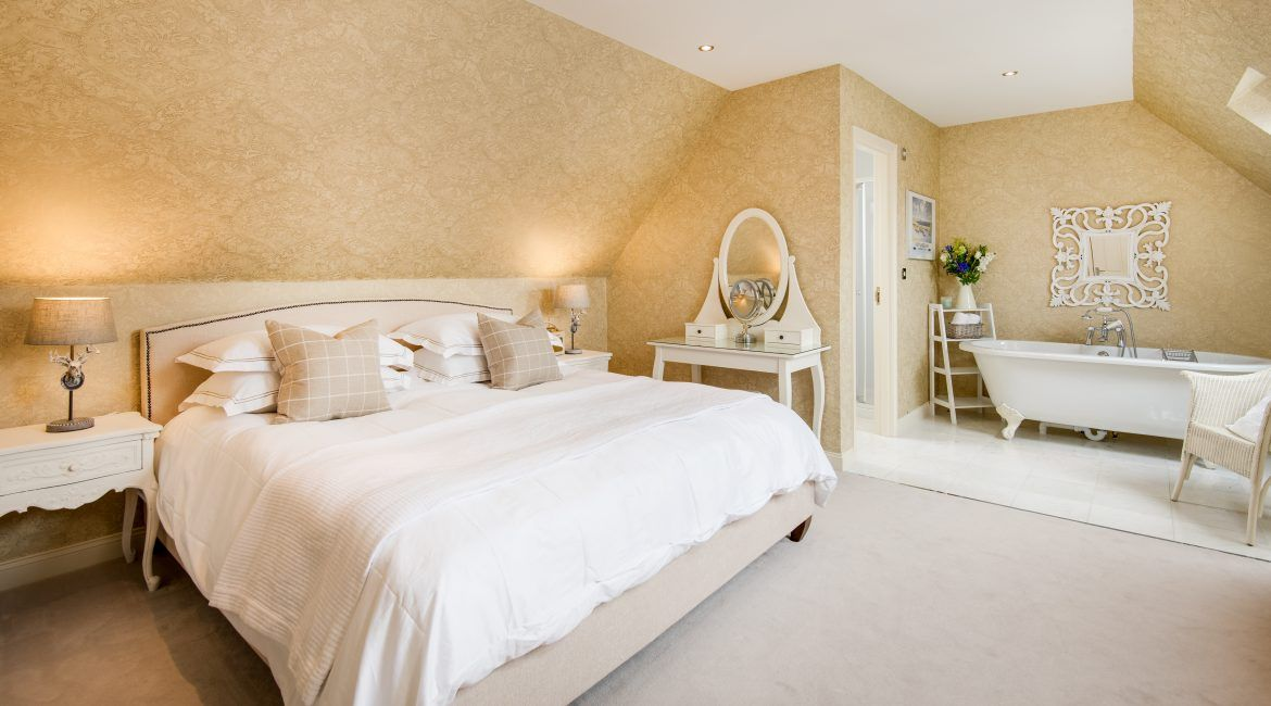 Master bedroom with ensuite facilities