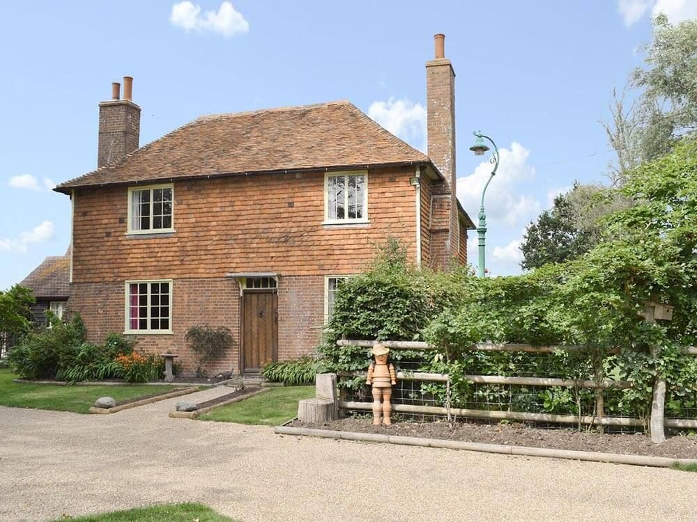 Welcome to beautiful Larkin Farmhouse & Studio - this Grade II listed property featured as the home of Ma and Pop Larkin in The Darling Buds of May ITV series