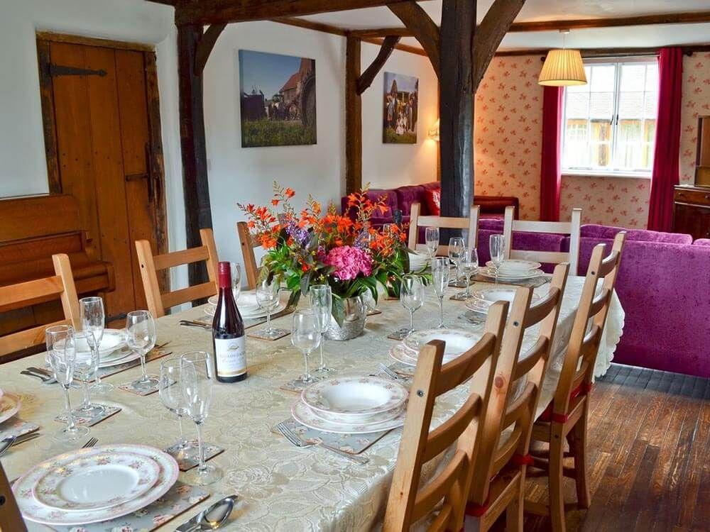 Larkin Farmhouse ground floor: Spacious open plan sitting/dining room