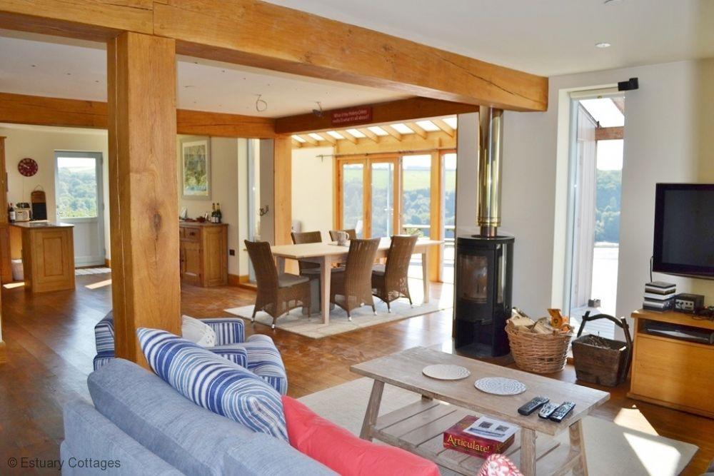 Open plan sitting room