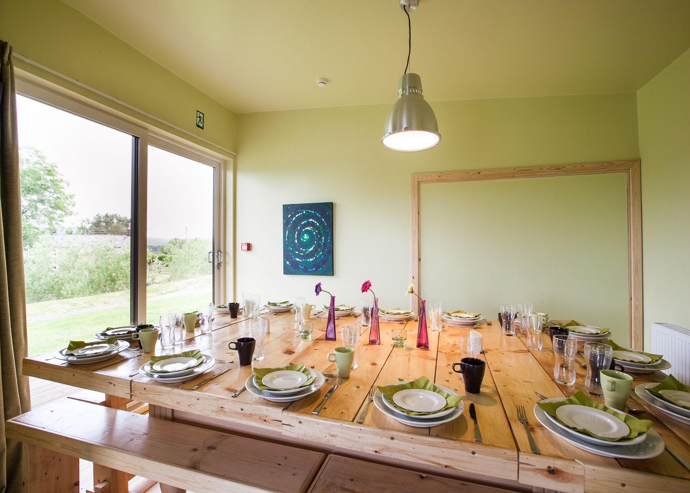 Bunkhouse Dining Area