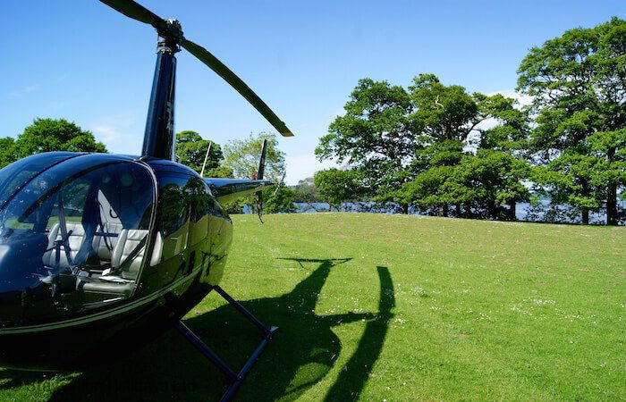 Guests can land their helicopter on its own Helicopter Landing Zone and there is private mooring for guests arriving by yacht