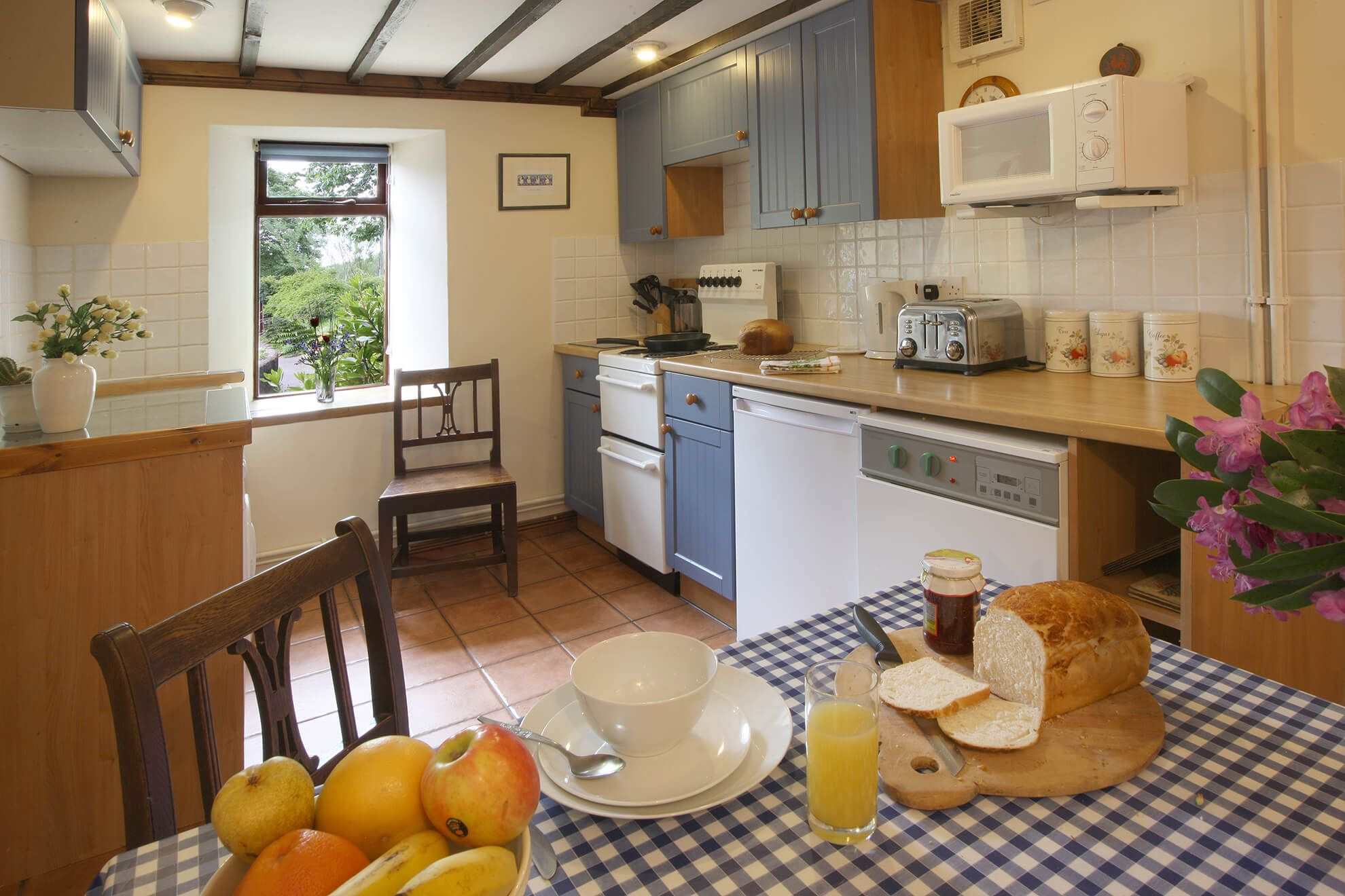 Ground floor: Farmhouse kitchen with dining area