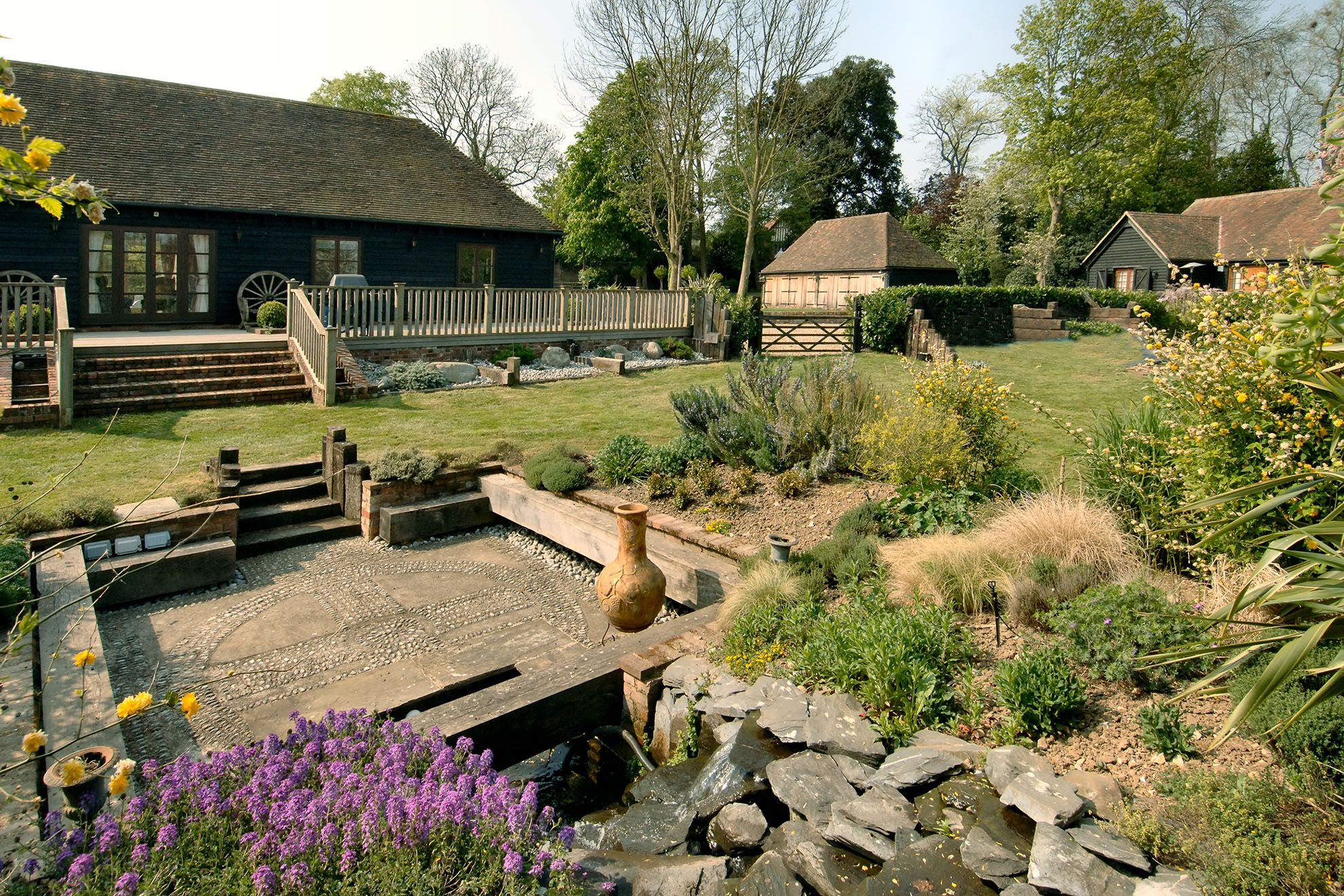 The appeal of The Barn, sleeping 5 Guests, is its leisure complex