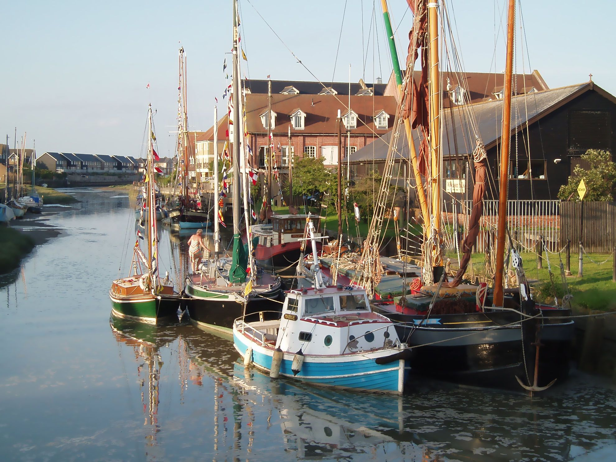 The medieval market town of Faversham, home to Britain's oldest brewery is a short drive.