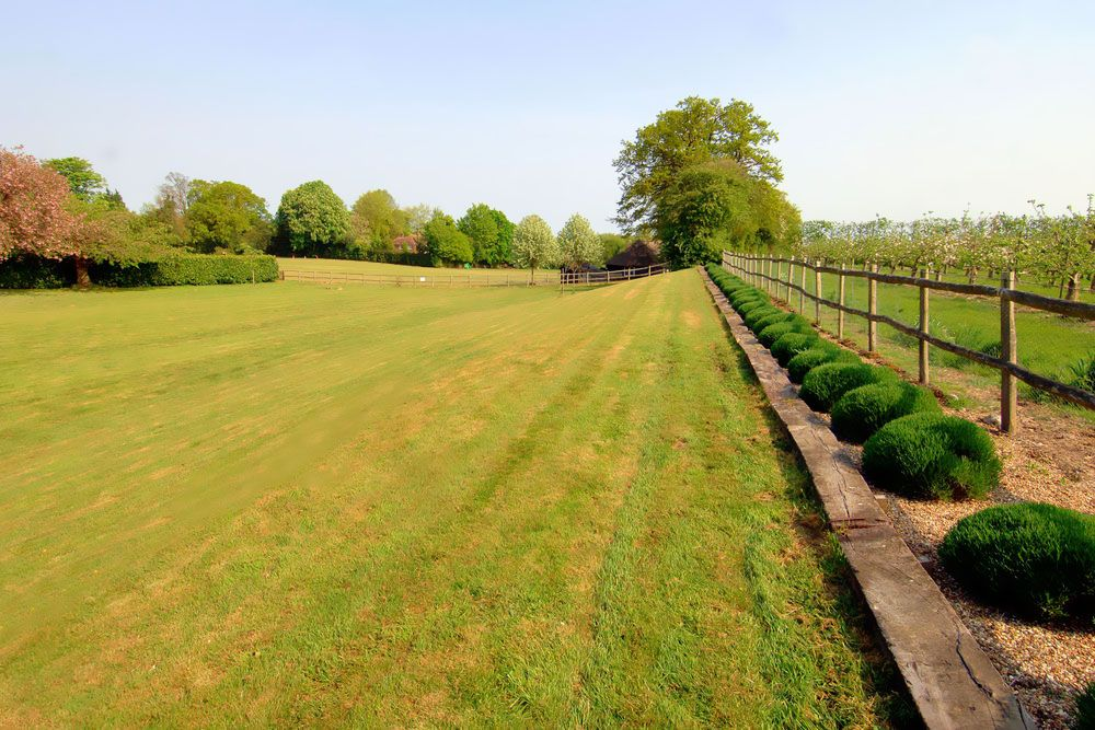The accommodation is surrounded by two acres of beautifully landscaped gardens