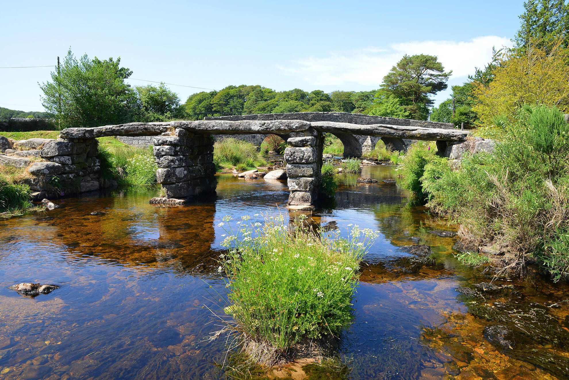 Dartmoor National Park is easily accessible and makes a great day out