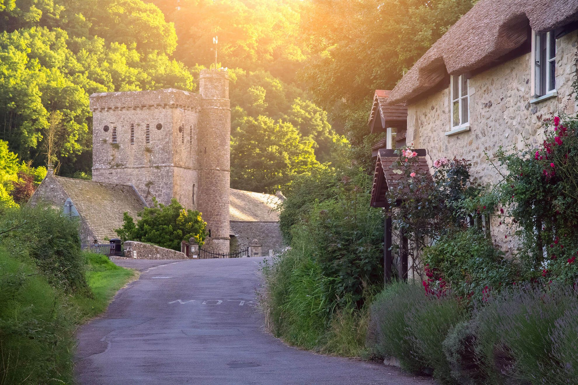 Branscombe is one of Britain's most picturesque villages