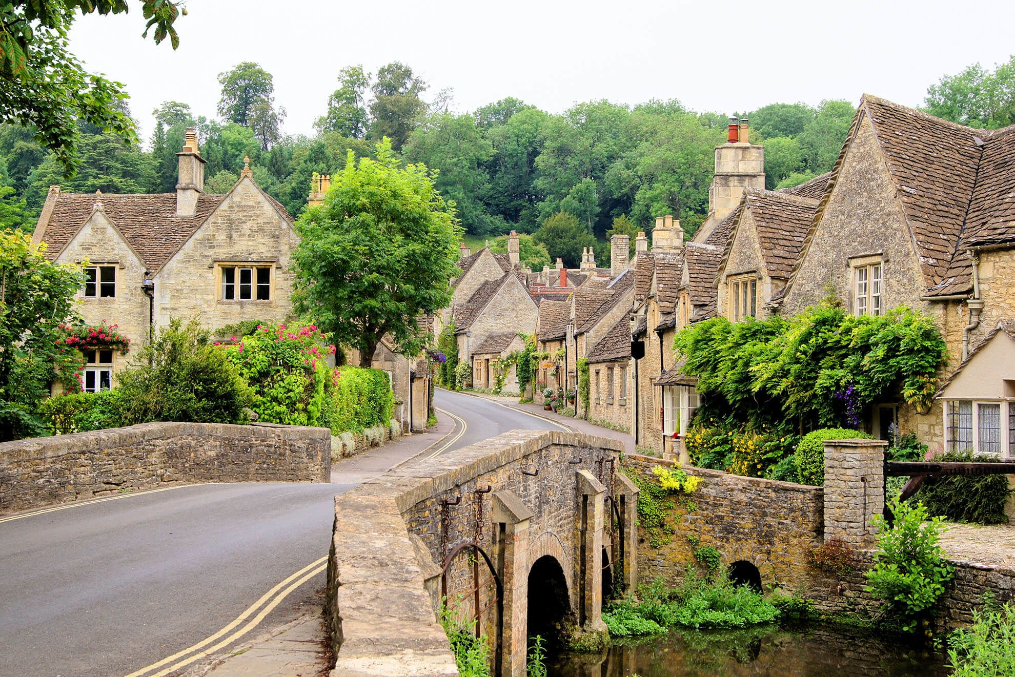 Castle Combe, called 'The Prettiest Village in England'