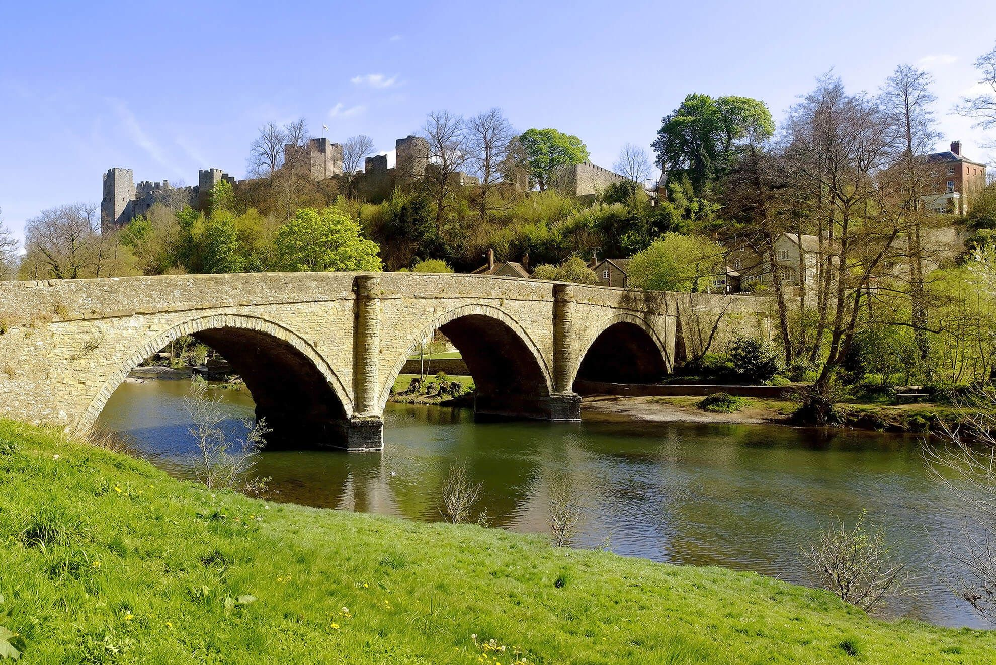 Ludlow, nestled in an Area of Outstanding Natural Beauty, is one of the loveliest town in England