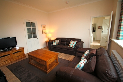 The lounge has comfy seating, TV with Freeview....