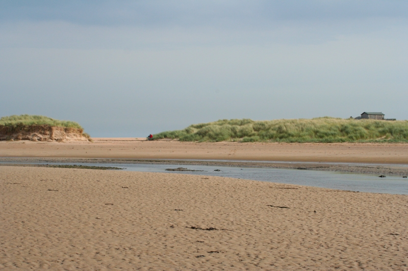 Tranquility near the nature reserve on Beadnell Bay