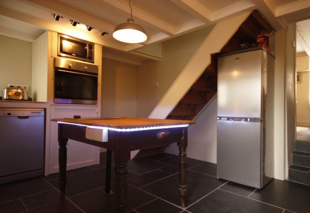 Penvar Cottage; Gerrans; Kitchen II