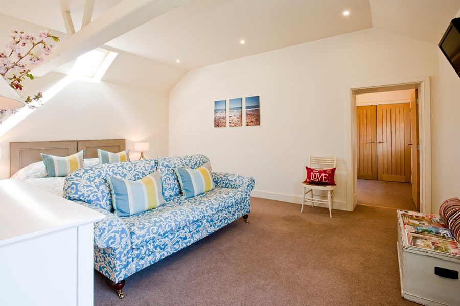 Big Sky Barn | Master bedroom
