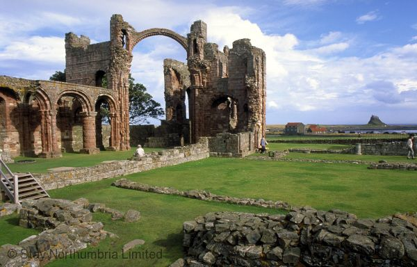 Lindisfarne Priory just a 10 minute drive (tides allowing)
