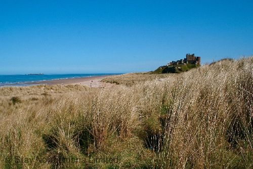 Bamburgh, with its stunning beaches and castle