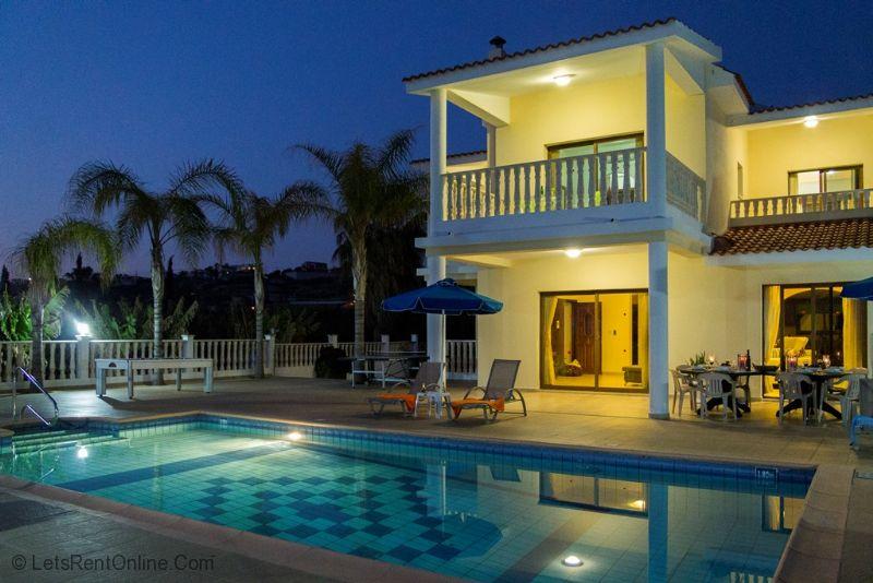 Mediterranean Blue Villa Cyprus