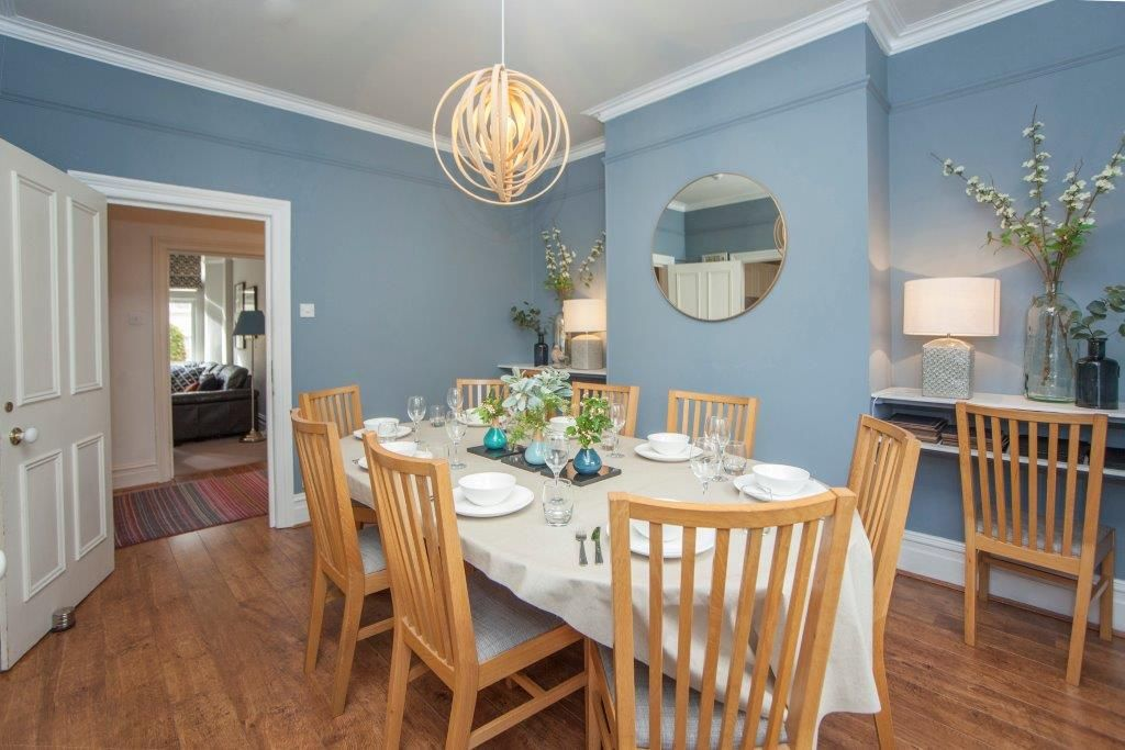 Beautiful dining room for that perfect meal