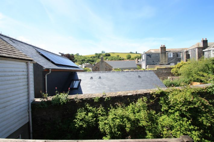 View from sitting room & balcony across the rooftops to Windmill Hill