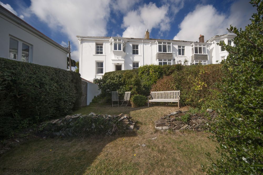 Gibraltar House; St Mawes; Cornwall; Front Garden