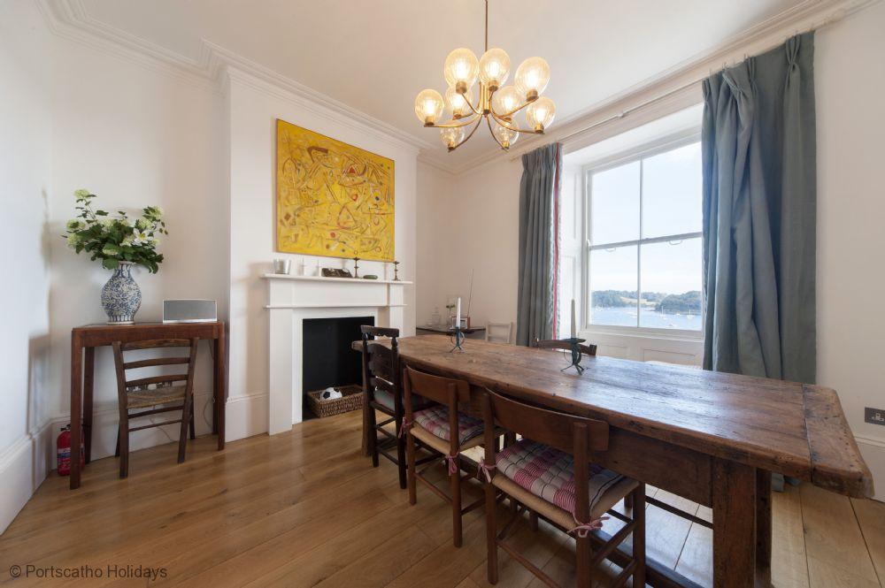 Gibraltar House; St Mawes; Dinning Room