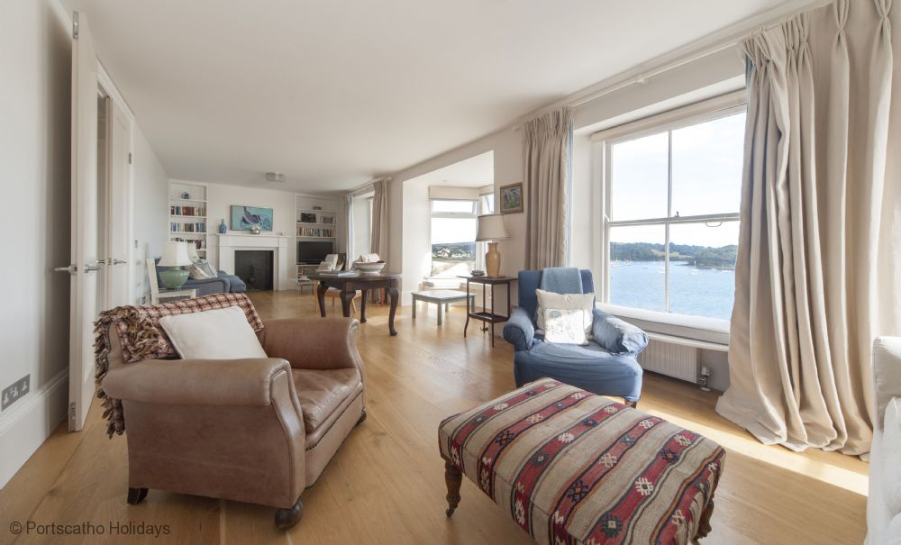 Gibraltar House; St Mawes; First Floor Sitting Room